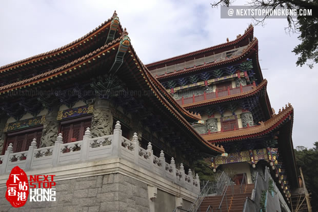 Po Ling Monastery of Ngong Ping