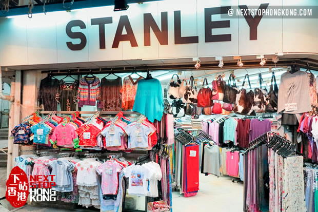 Chinese-style clothes on Stanley Market