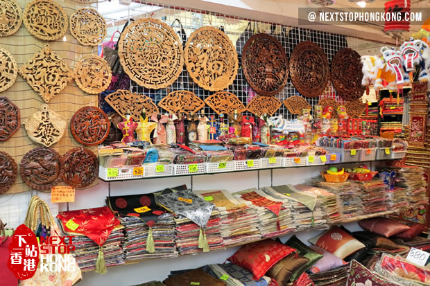 Chinese-style Souvenirs on Stanley Market