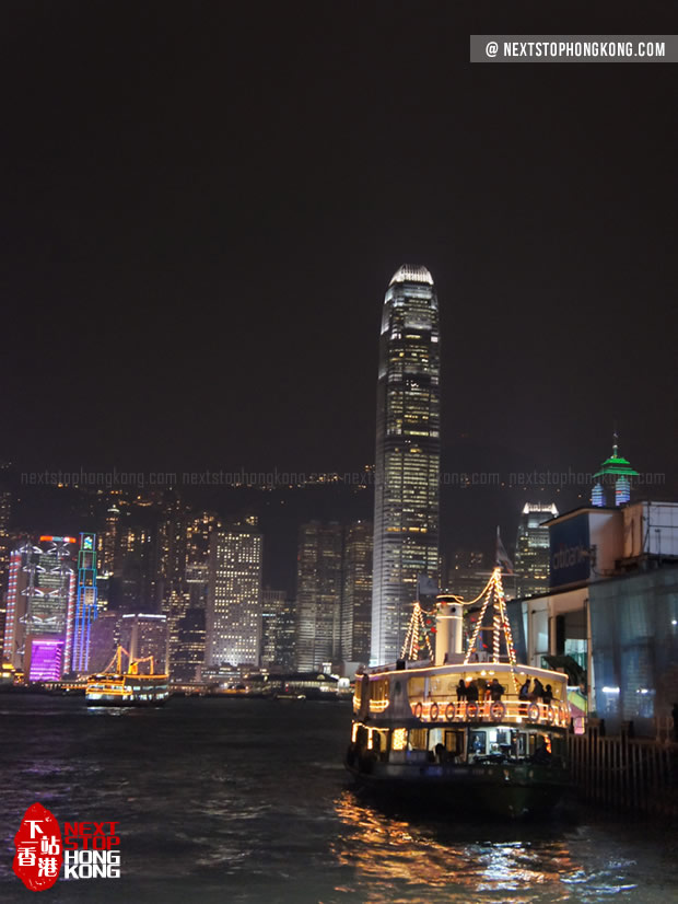 Star Ferry's Harbour Tour (at night)