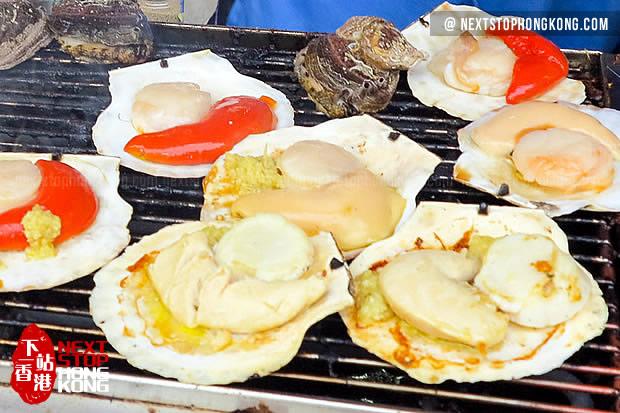 Tai O Street Food-BBQ Oyster