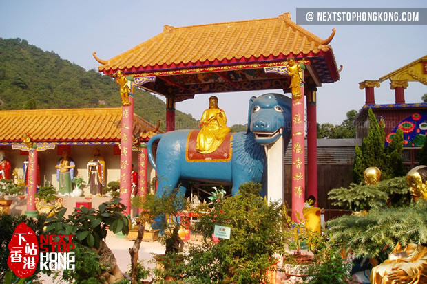 Skanda Pavilion of Ten Thousand Buddhas Monastery