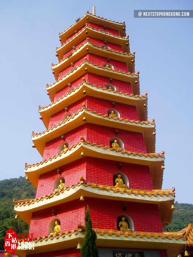 9-floor Pagoda of Ten Thousand Buddhas Monastery