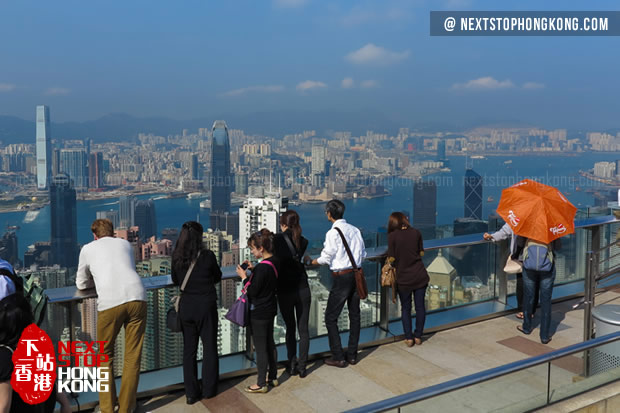 Tourists Enjoying Views from Sky Terrace 428