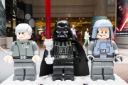 LEGO x Star Wars: The Force Awakens Exhibition at Times Square