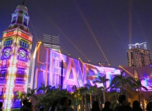 3D Pulse Light Show