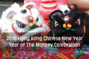 Hong Kong Year of Monkey Celebration 2016