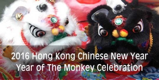 Hong Kong Year of Monkey Celebration 2016