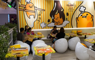 Gudetama Café by Izumi Curry in YATA