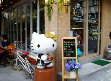 Hello Kitty Secret Garden Café Opens in Hong Kong