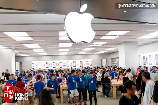 Second Apple Store in Hong Kong Festival Walk