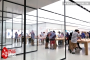Grand Opening of New Town Plaza Apple Store in Hong Kong