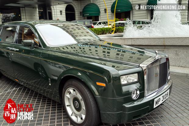 Peninsula Rolls Royce Pickup Service