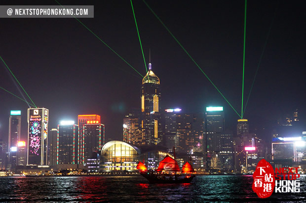 Duk Ling Symphony of Lights Harbour Tour