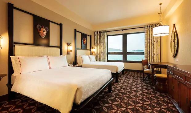 Sea View Room in Disney Explorers Lodge