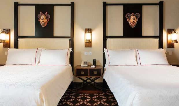 Standard Room in Disney Explorers Lodge