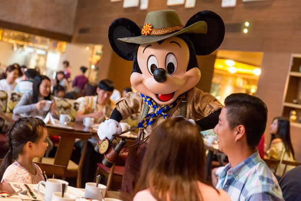 Meet Mickey Mouse in Dragon Wind