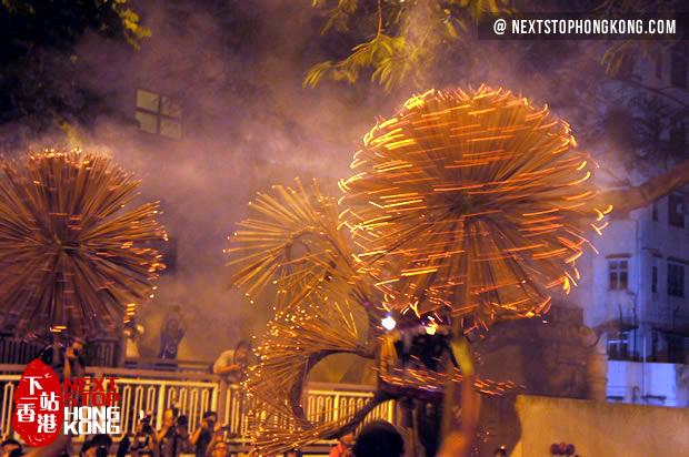 香港中秋节大坑舞火龙