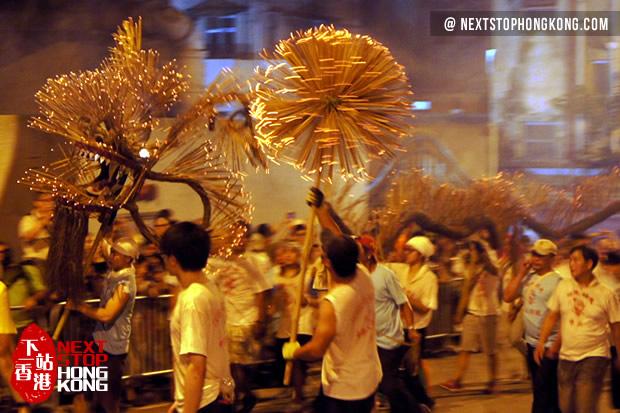 2019 Hong Kong Fire Dragon Dance on Mid-Autumn Festival: Tai