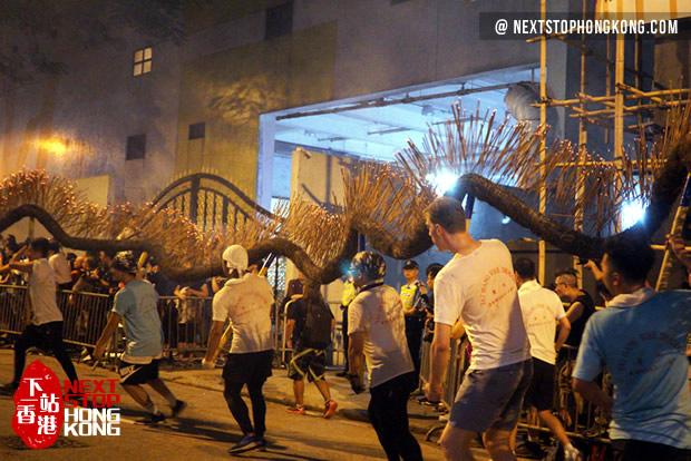 Tai Hang Fire Dragon Dance Mid-Autumn Festival Hong Kong