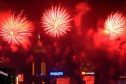 Hong Kong 2018 New Year's Eve Fireworks and Countdown Celebrations