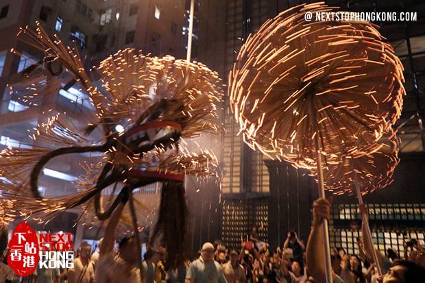 2017 Hong Kong Mid-Autumn Festival Celebrations - Tai Hang Fire Dragon Dance Mid-Autumn Festival Hong Kong