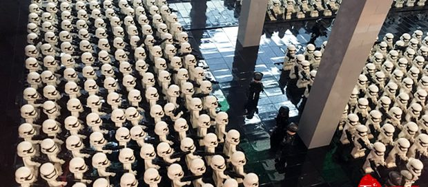 apm Xmas lego Star Wars Diorama
