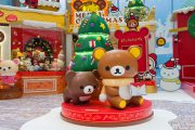Take some Christmas selfies with Rilakkuma and his gang at The ONE