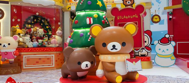 2017 Rilakkuma Christmas Town at The ONE