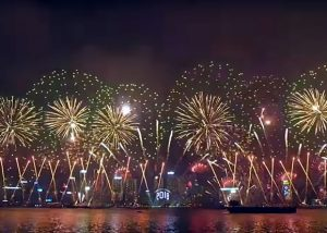 2018 Hong Kong Chinese New Year Celebrations and Events - Fireworks Show