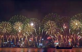 2018 Hong Kong New Year Fireworks