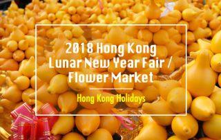 2018 Hong Kong Lunar New Year Flower Market