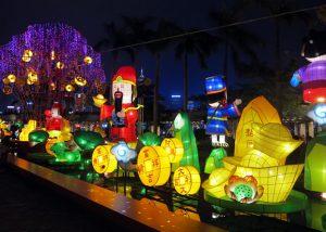 Lunar New Year Thematic Lantern Display