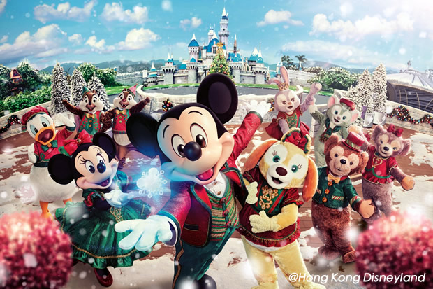 Christmas In Disneyland Hong Kong.A Very Disney Christmas In Hong Kong Disneyland 2018 Hong