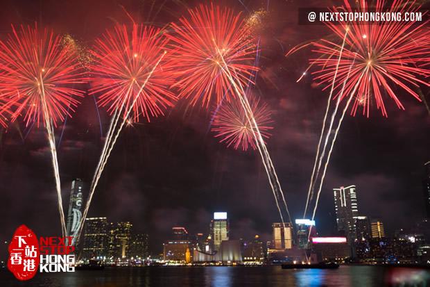 3f6e72b9ba74 Photos of Hong Kong Fireworks Show. Hong Kong Chinese New Year Fireworks  Display